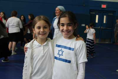 Students at Farber Hebrew School